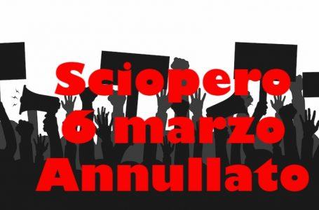 Annullato lo sciopero per i precari del 6 marzo