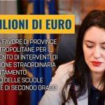 855 milioni di euro scuola